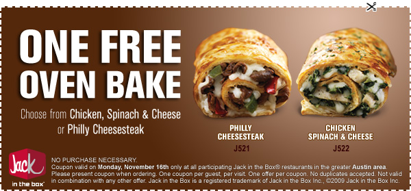 image regarding Jack in the Box Printable Coupons referred to as jack within just the box  - Devices, Know-how, and